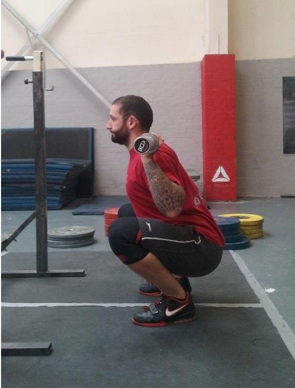 birmingham personal trainer weightlifting coach
