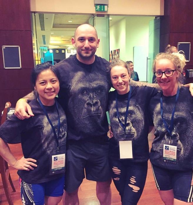 british weightlifting championships coach birmingham gorilla pt